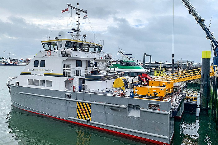 Manor Venture Onsite at Borssele 1 & 2 Offshore Wind Farm